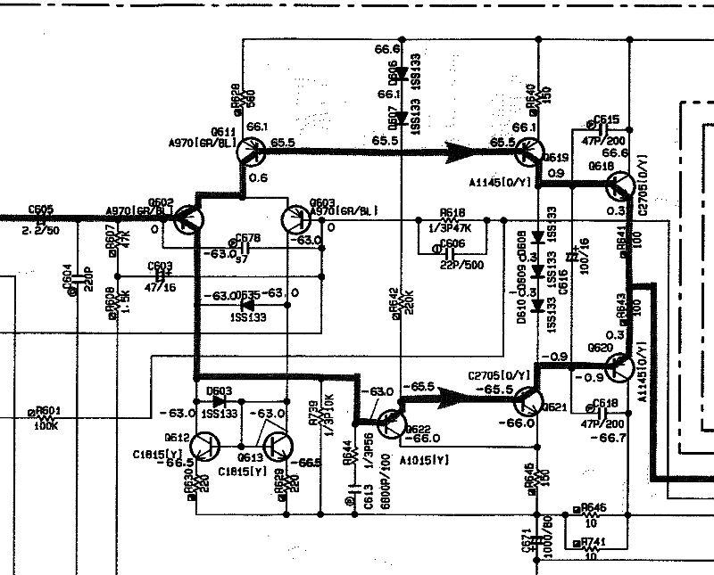 audio  folienkondensator durch keramikkondensator