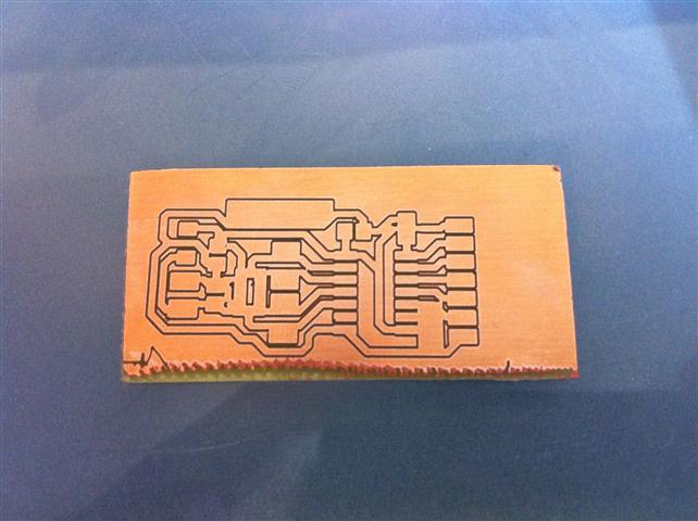 PhotoPositive Leiterplatte Lasern (Video) - Mikrocontroller.net