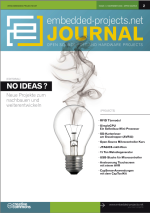 Embedded Projects Journal Titelblatt