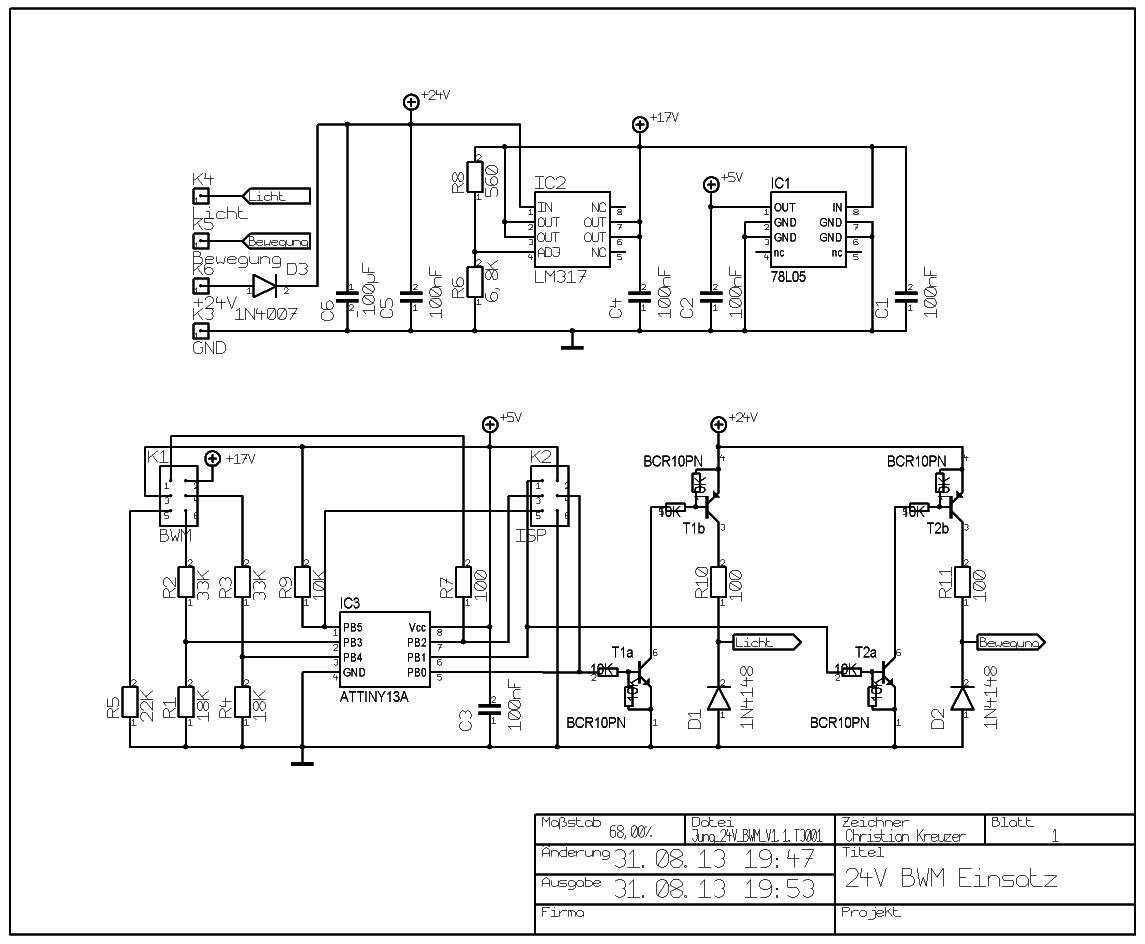 Schaltplan Version 1.1