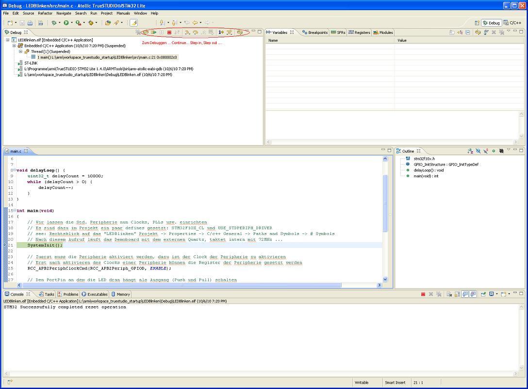 Truestudio debug session1.JPG