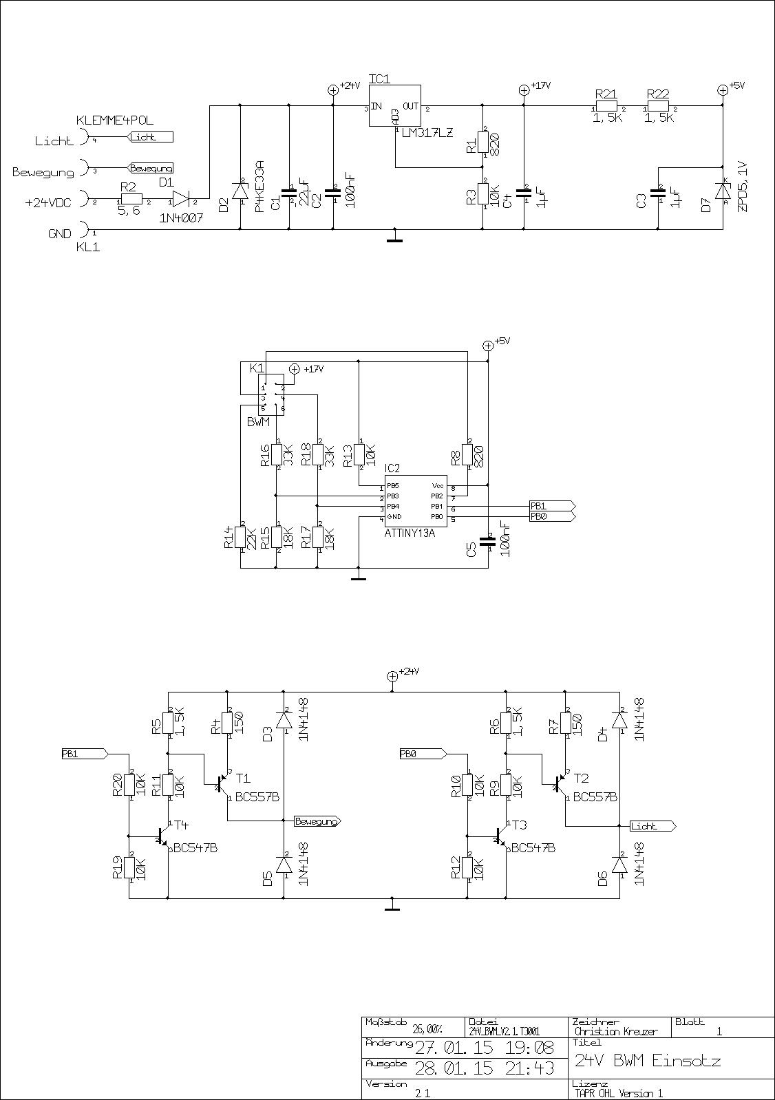 Schaltplan Version 2.0