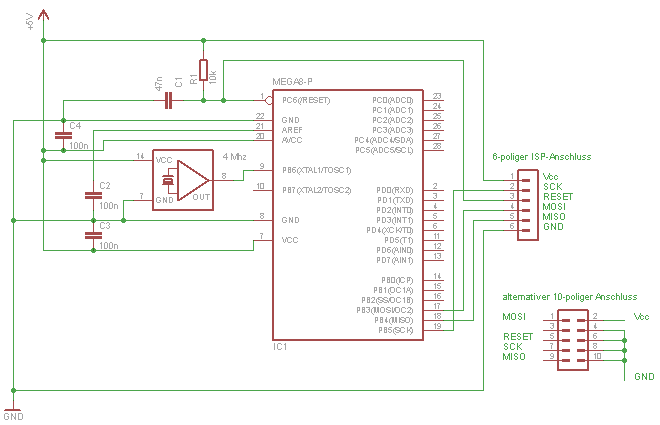 Avr Tutorial Equipment Mikrocontrollernet