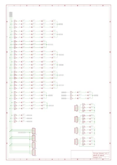 Schaltbild der LEDs Teil 2