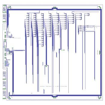 Singel LED Platine - Widerstand Seite