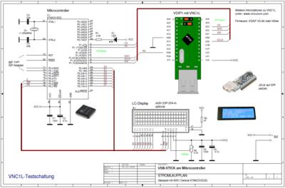 Stromlaufplan 8051