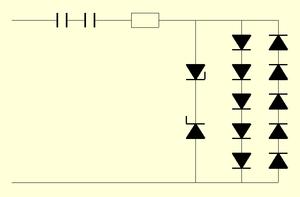 230V-Schaltung