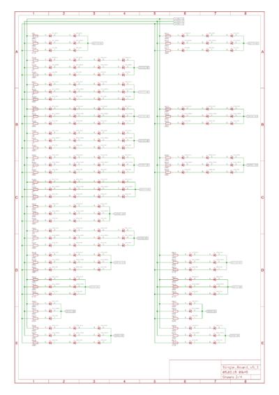 Schaltbild der LEDs Teil 1