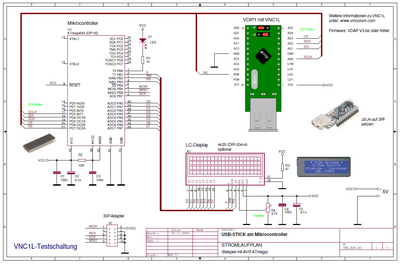 Stromlaufplan AVR