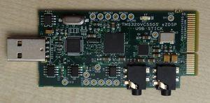 TMS320VC5505 eZDSP top.jpg